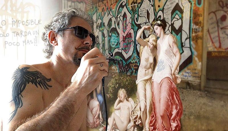 Marco Battaglini, pop art, pop my duke, art gallery, galerie d'art, urban art, Luxembourg, street art, art contemporain, contemporary art, artist, Artiste, colour, graffiti, photo, art fair, art basel, Andy Warhol, optical illusion, 3D vision
