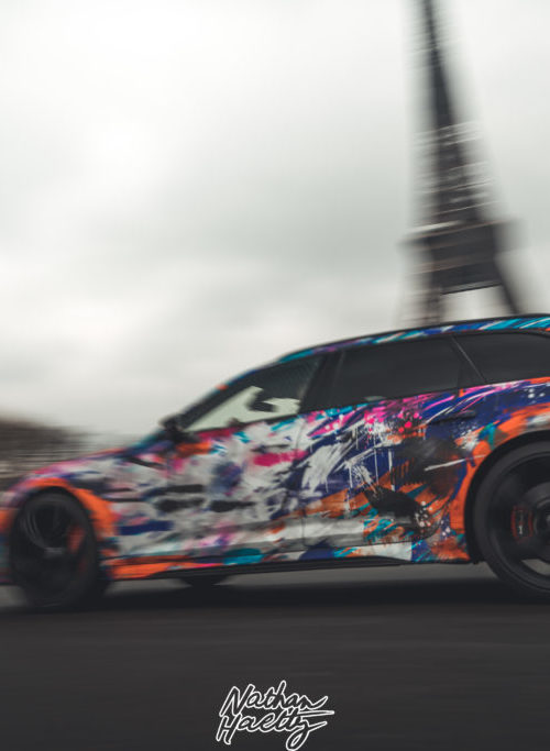 Audi RS6 art car 1