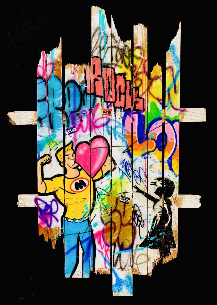 Onemizer, streetart, popart, artist, artiste, graffiti, tag, urban art, fine art, france, art gallery