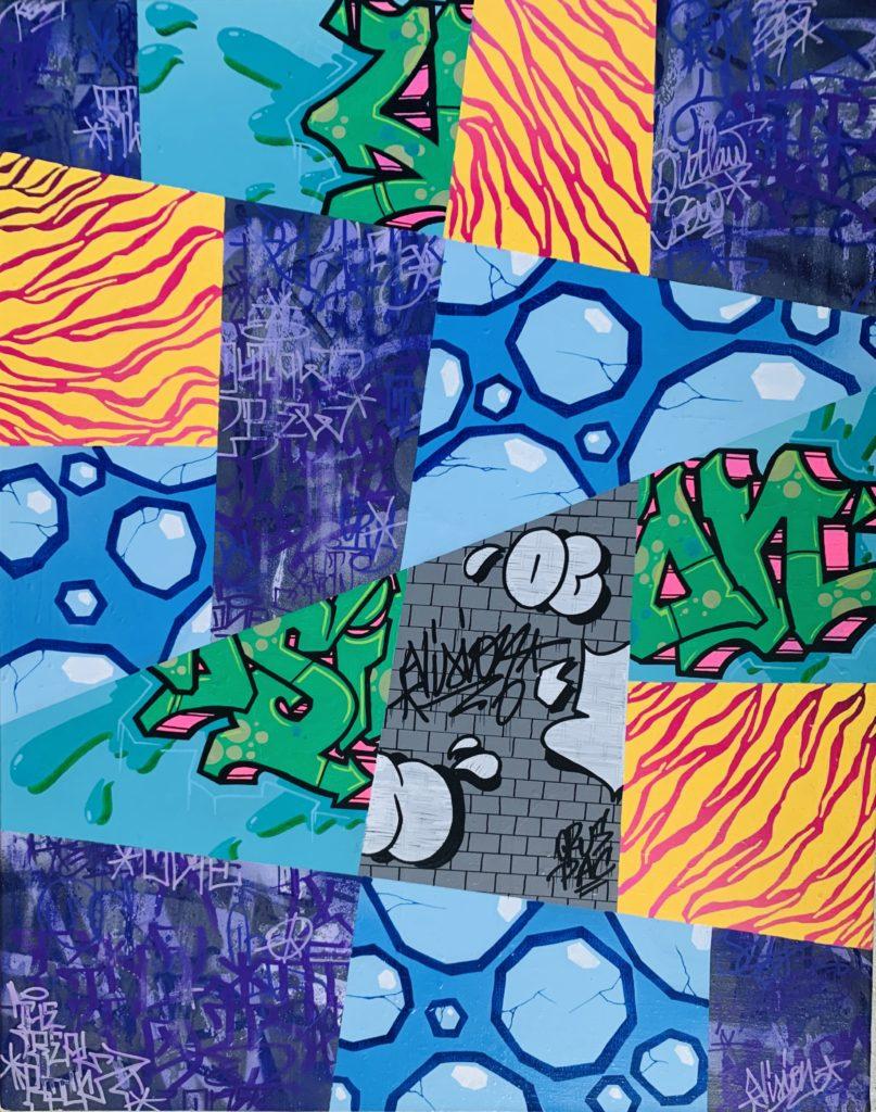 Vision - street art - urban art - pop my duke luxembourg - art gallery luxembourg - graffiti - urban write