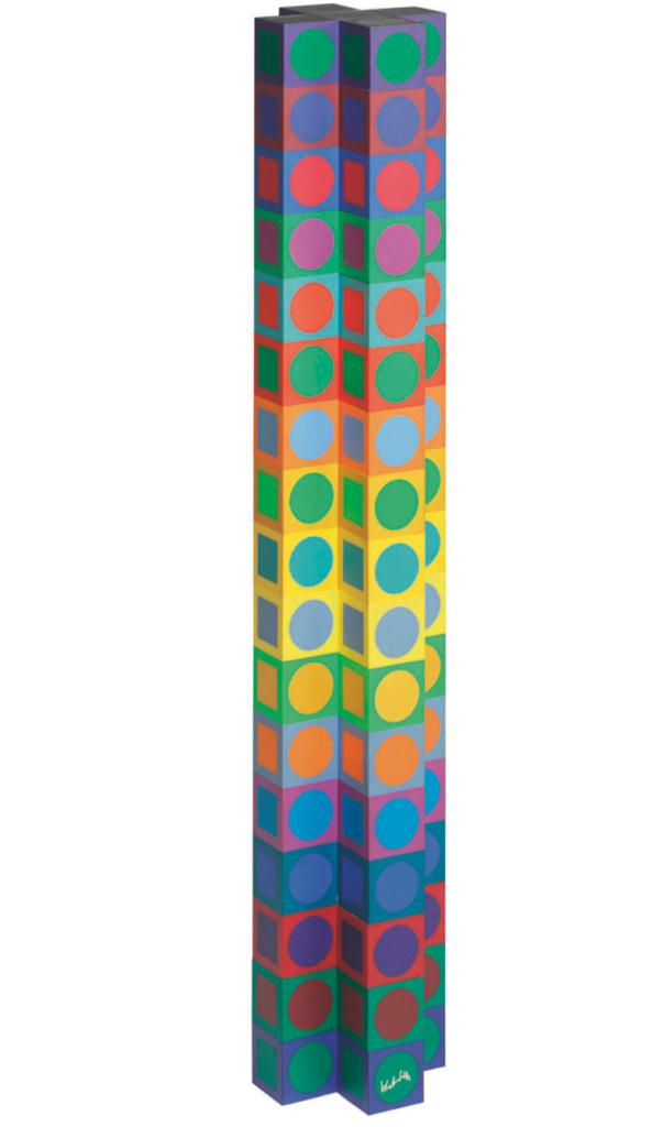Victor Vasarely, streetart, popart, artist, artiste, graffiti, tag, urban art, fine art, france, art gallery