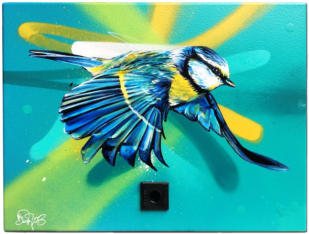 Dan23 - street art - urban art - pop my duke luxembourg - art gallery luxembourg - graffiti - urban write